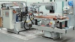 ポールコイル誘導加熱による半自動ロー付け装置